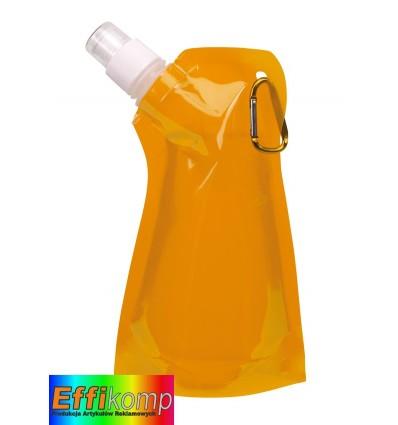 Butelka wodna, SIMPLY MAGIC, pomarańczowy.