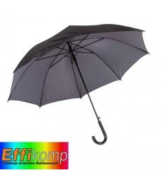 Parasol automatyczny, DOUBLY, czarny/szary.