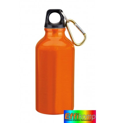 Butelka Aluminiowa, TRANSIT, pomarańczowy.