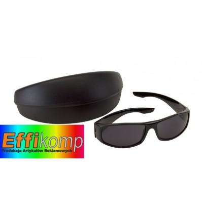 Okulary przeciwsłoneczne, EYE-CATCHER, czarny.