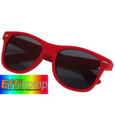 Okulary, TRENDY, czerwony.