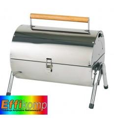 Zamykany grill, HAPPY MEAL, srebrny.