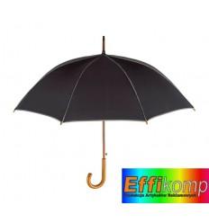 Parasol automatyczny, WALTZ, czarny/szary.