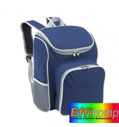 Plecak piknikowy, OUTSIDE, niebieski/szary.