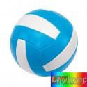 Piłka do siatkówki plażowej, PLAY TIME, niebieski/biały.