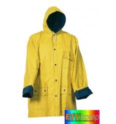 Płaszcz przeciwdeszczowy, XL, TWO SIDES, żółty/niebieski.