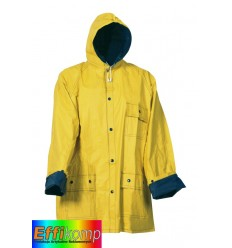 Płaszcz przeciwdeszczowy, XXL, TWO SIDES, żółty/niebieski.