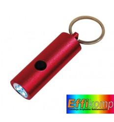 Latarka LED, LITTLE LIGHTENING, czerwony.
