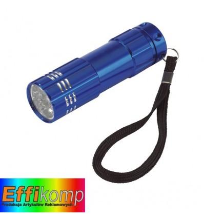 Latarka LED, POWERFUL, niebieski.