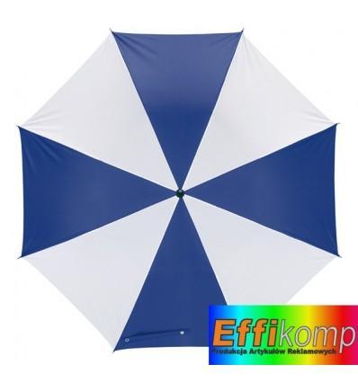 Parasol, REGULAR, biały/niebieski.