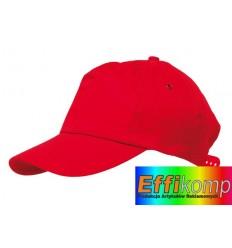 Czapka baseballowa, RACING, czerwona.