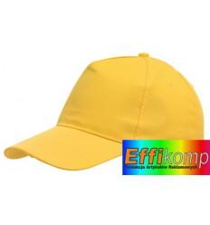 Czapka, FAVOURITE, żółty.
