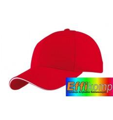 Czapka baseballowa, LIBERTY, czerwony.