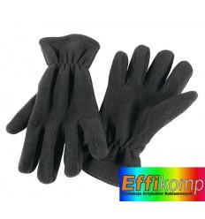 rękawiczki z włółkna polarowego, ANTARTIC, czarny.