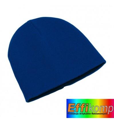 Dwustronna czapka, NORDIC, ciemnoniebieski.