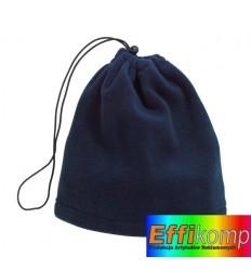 Polarowy szalik/czapka, VARIOUS, ciemnoniebieski.