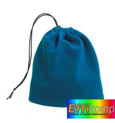 Polarowy szalik/czapka, VARIOUS, niebieski.