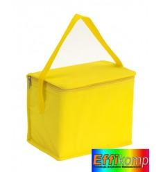 Torba izotermiczna, CELSIUS, żółty.