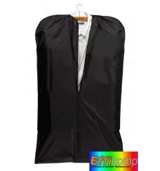 Worek składany na odzież, SUIT, czarny.