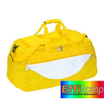 Torba na ramię, CHAMP, żółty/biały.