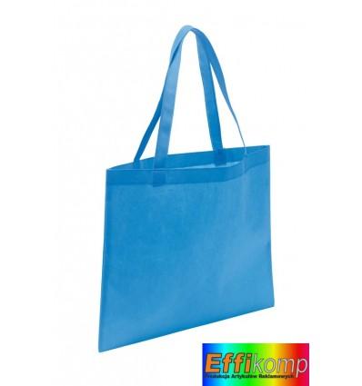 Torba na zakupy, MARKET, jasnoniebieski.