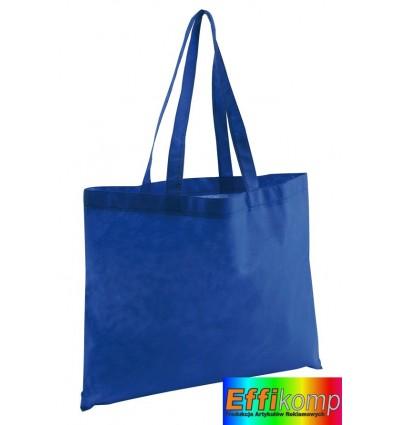 Torba na zakupy, MARKET, niebieski.