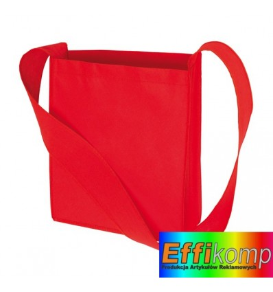 Torba na zakupy, MALL, czerwony.