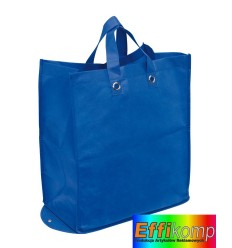 Torba na zakupy, PALMA, niebieski.