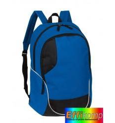 Plecak, CURVE, niebieski/czarny.