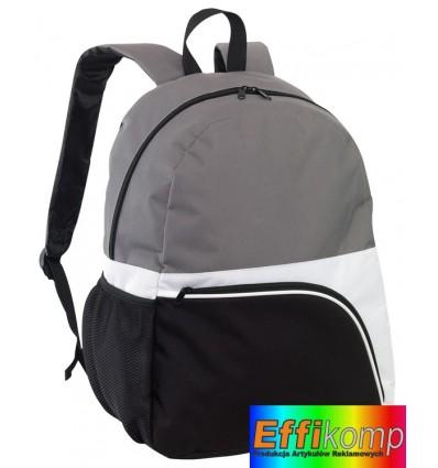 Plecak, NARVIK, czarny/biały/szary.