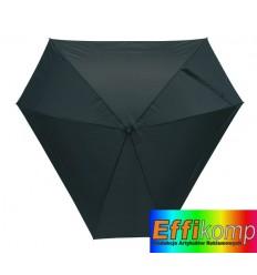 Parasol z włółkna szklanego, TRIANGLE, czarny.