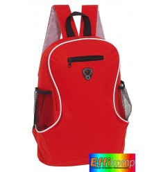 Plecak, TEC, czarny/czerwony.