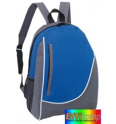 Plecak, POP, szary/niebieski.