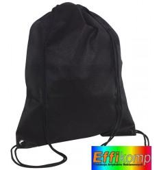 Plecak marynarski, DOWNTOWN, czarny.