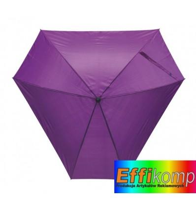 Parasol z włółkna szklanego, TRIANGLE, fioletowy.