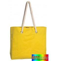 Torba plażowa, CAPRI, żółty.