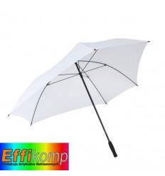 Parasol z włółkna szklanego, TRIANGLE, biały.