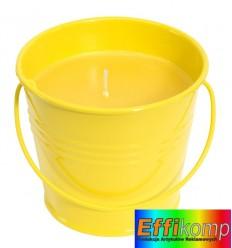 Świeczka, CITRUS, żółty.