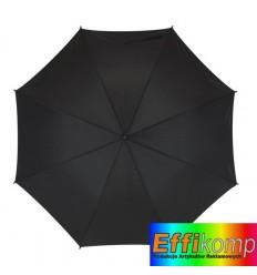 Parasol z włółkna szklanego, FLORA, czarny.