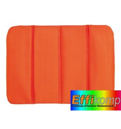 Poduszka Składana, PERFECT PLACE, pomarańczowy.