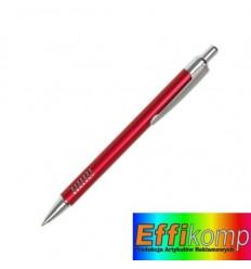 Długopis, CAYMAN, czerwony.