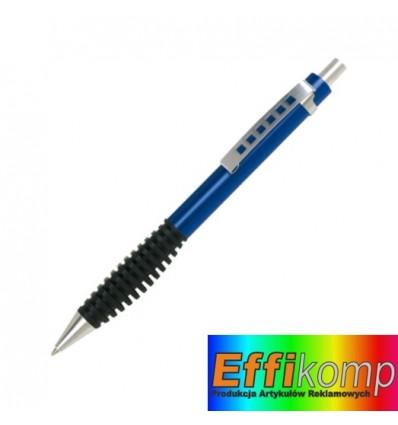 Długopis, TOUCH METAL, niebieski.