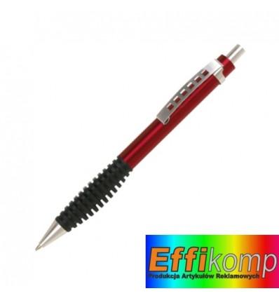 Długopis, TOUCH METAL, czerwony.