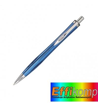 Długopis, ASCOT, niebieski.