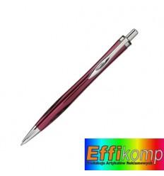 Długopis, ASCOT,, czerwony.