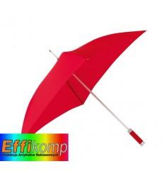 Parasol o kwadratowej czaszy, QUATRO, czerwony.
