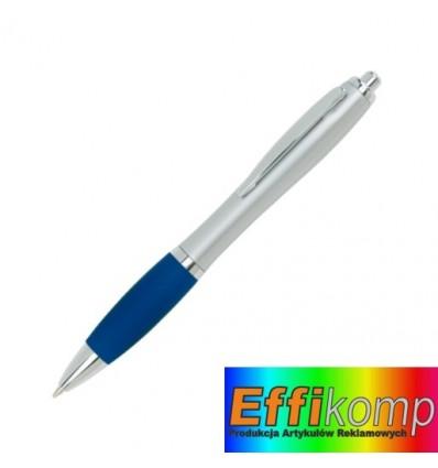 Długopis, SWAY, niebieski/srebrny.