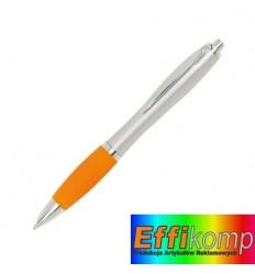 Długopis, SWAY, pomarańczowy/srebrny.