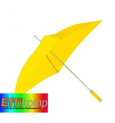 Parasol o kwadratowej czaszy, QUATRO, żółty.