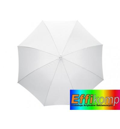 Parasol automatyczny, RUMBA, biały.